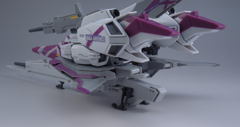 HGUCZガンダム3号機ウェーブライダー完成3