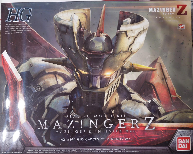 HGマジンガーZのパッケージ
