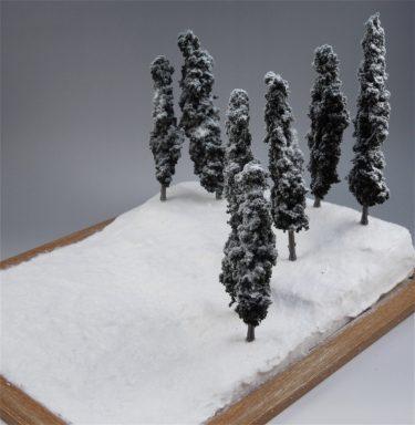 ジオラマを作ってみよう! 第三回 雪原完成