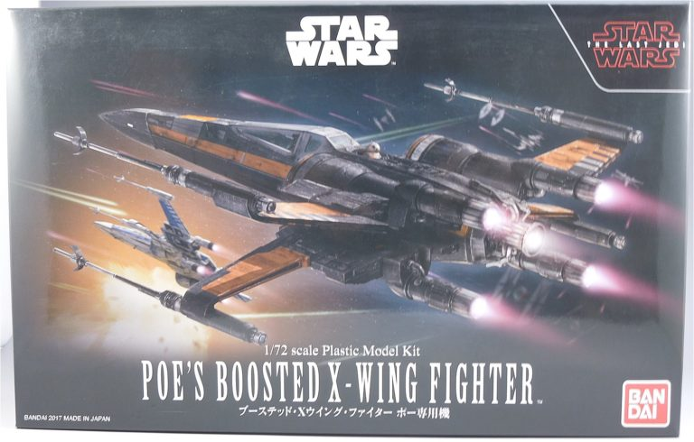 STAR WARS ブーステッドXウイングファイター ポー専用機パッケージ