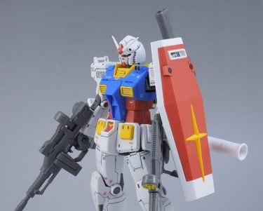 【HG RX-78-2ガンダム(GUNDAM THE ORIGIN版)】レビュー その② 完成レビュー